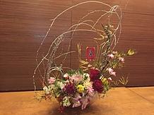 店内には美しいお花も飾ってあります