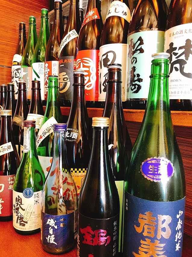 浜松市西区居酒屋旬鮮庵ひなたの日本酒