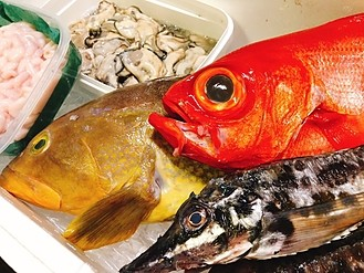 冬が旬の魚介類